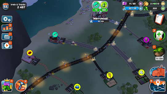 Transit King Tycoon MOD Apk 3.24 (Free Purchases) 5