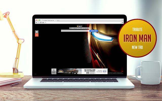 Iron Man Tribute New Tab