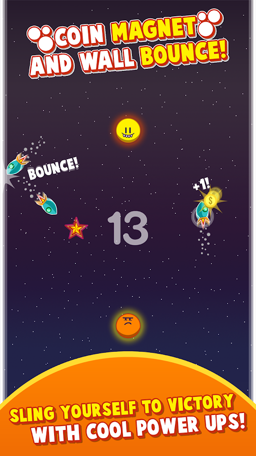 POWER SLINGSHOT SPACE LEGEND- screenshot