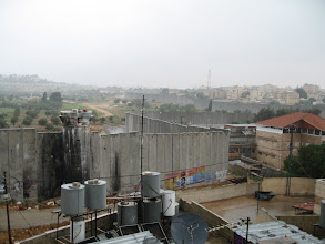 Photo: View of the wall from the Palestinian side