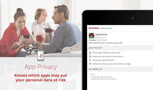 Mobile Security: Antivirus, Anti-Theft & Safe Web Screenshot