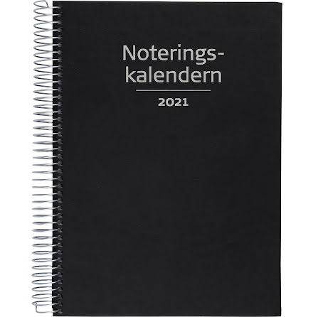 Noteringskalendern k.läder sv.