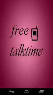 Free Talktime Screenshot