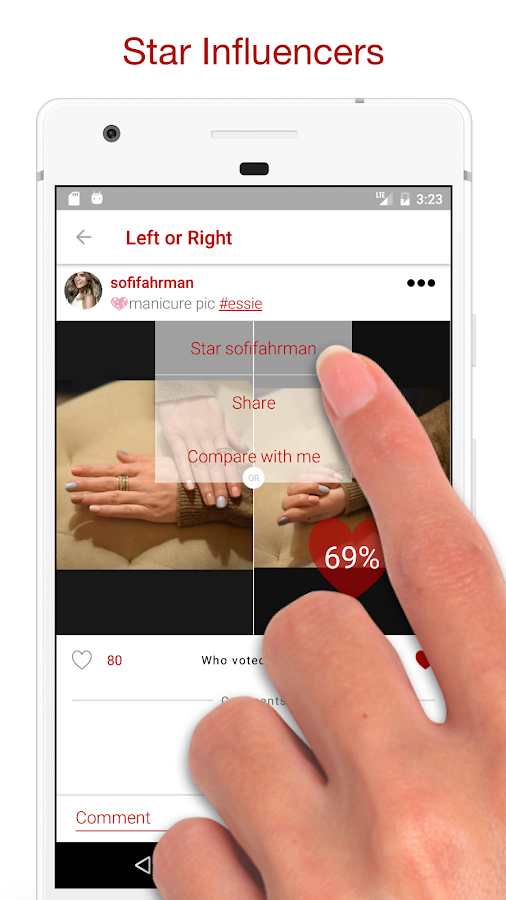 LoR App - Left or Right- screenshot