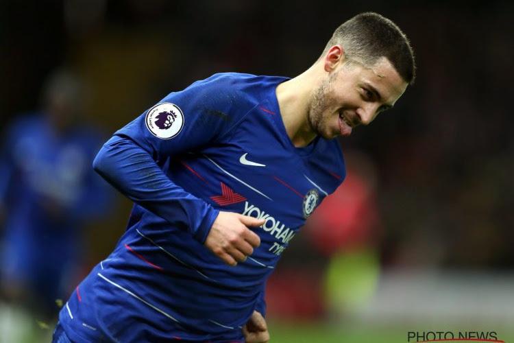 Un deuxième trophée de Joueur du mois pour Eden Hazard?