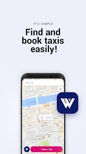 Whistle Taxi App - náhled