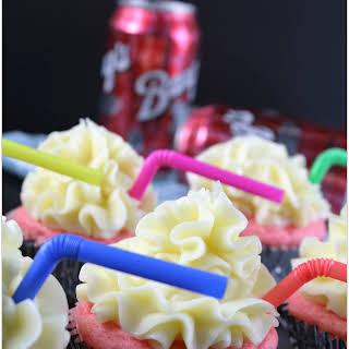 Red Cream Soda Cupcakes.