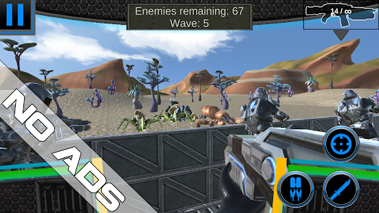Starship Troops NO ADS - Star Bug Wars 2 Screenshot