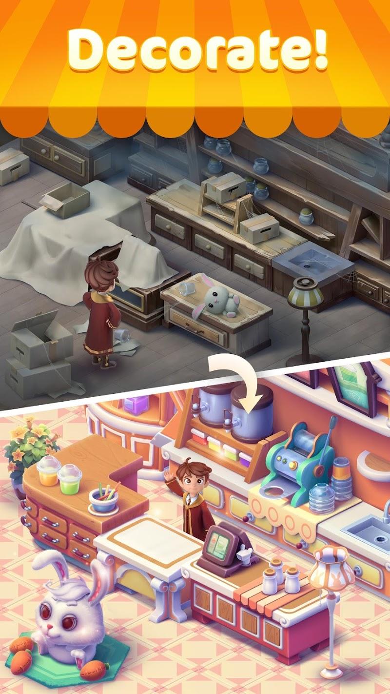 Jellipop Match: Open your dream shop! Screenshot 2