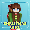 Girl Christmas Skins for Minecraft icon