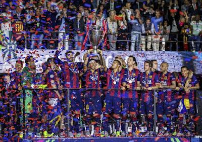 Six joueurs du Barça dans l'équipe type de la Liga