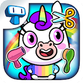 My Unicorn Virtual Pet - Cute Animal Care Game