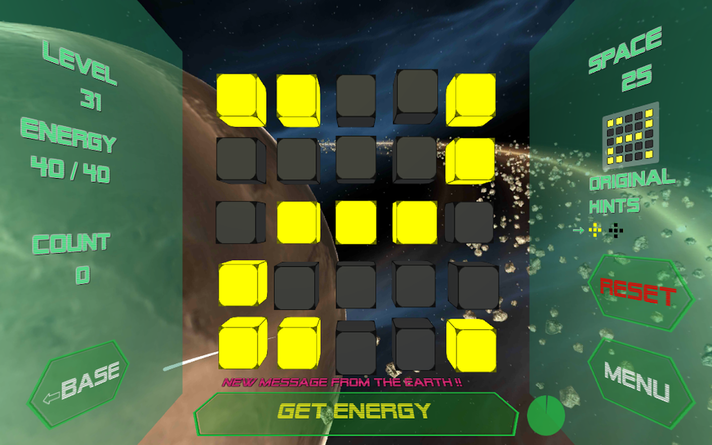 Space SF Puzzle LumineCubes- screenshot
