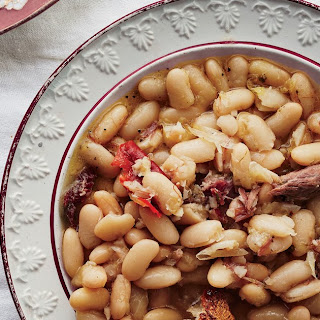 Stewed Cannellini Beans with Chiles and Thyme Recipe