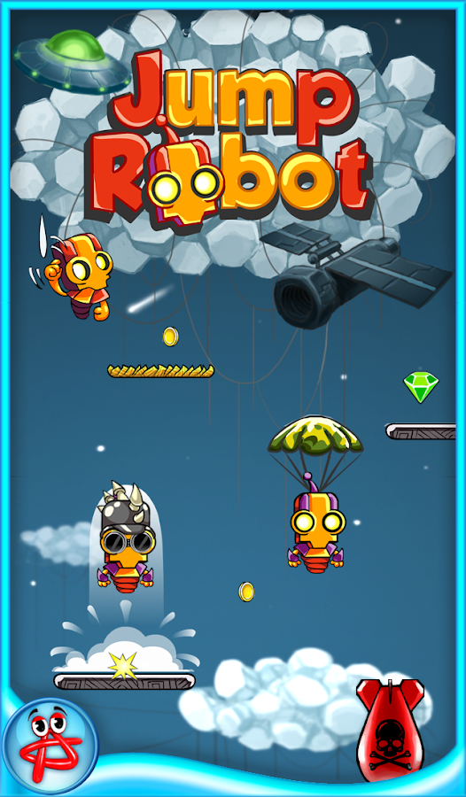 Jump Robot: Space Adventure- screenshot