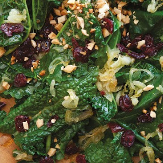 Kale and Cranberry Toss