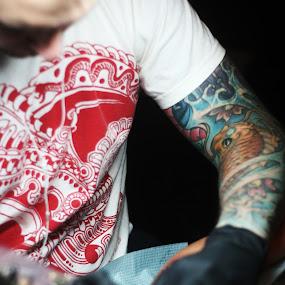 by Joe Wallace - People Body Art/Tattoos