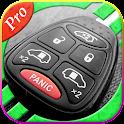 Car key lock remote prank icon