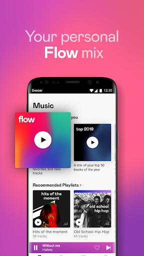 Deezer Music Player: Songs, Playlists & Podcasts mod apk 6.1.18.113 screenshots 2