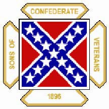 Photo: Sons of Confederate Veterans logo..From 1896