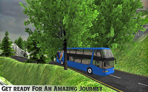Simulate Hill Tourist Bus