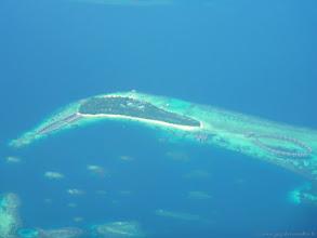 Photo: #003-Une île-hôtel aux Maldives.