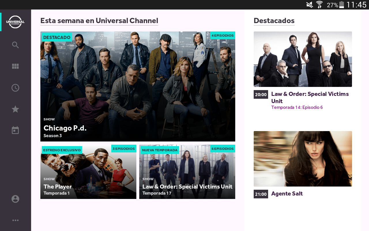 Universal Channel Play- screenshot