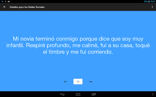 Frases y Estados para Twitter, Whatsapp,...- screenshot thumbnail