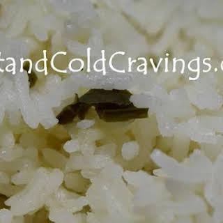 Jalapeno White Rice.
