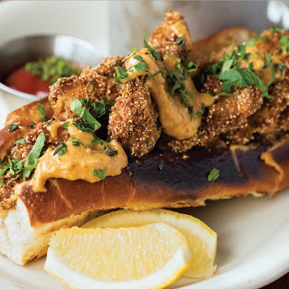 The Peacemaker Fried Oyster Sandwich