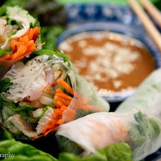 Vietnamese Fresh Spring Roll-Gỏi Cuốn.