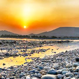 Nigor by Abdul Rehman - Instagram & Mobile iPhone ( pakistan, sunset, balochistan, jhal, mula, river,  )