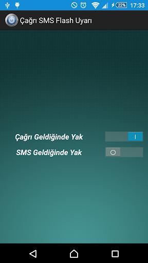Call SMS Flash Light