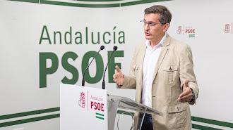 José Luis Sánchez Teruel, secretario provincial del PSOE.