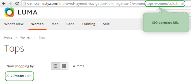 Improved Layered Navigation for Magento 2