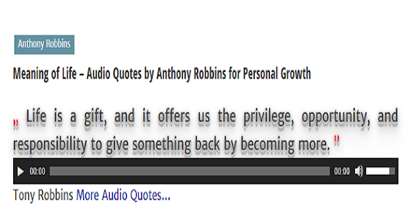 Audio Quotes About Life Prepossessing Audio Quotes To Inspire  Android Apps On Google Play