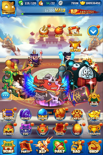 Crazy Gods: Strategy RPG 1.2.4 screenshots 6