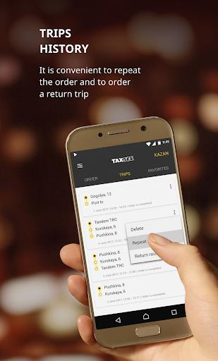 Taxsee: taxi order 3.7.13 screenshots 4