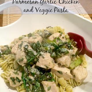 Parmesan Chicken and Veggie Pasta