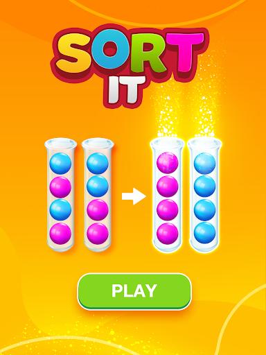 Sort Puzzle: Fun Ball apkpoly screenshots 11
