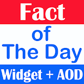 Fact of the Day Widget + AOD