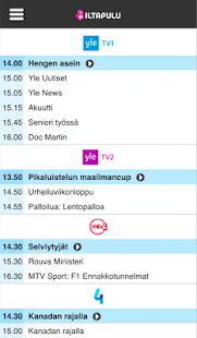 Iltapulu.fi TV-opas- screenshot thumbnail