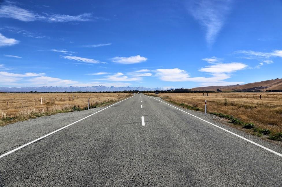 Krajobraz, Nowa Zelandia, tanie podróżowanie