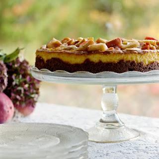 Apple Pie Cheesecake.