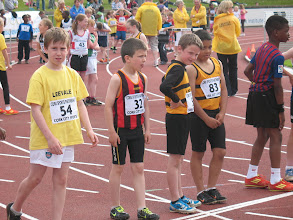 Photo: Dillon Ryan, Moycarkey Coolcroo A.C. at the Cork City Sports Juvenile 300m Gala