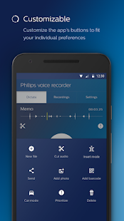 Philips voice recorder- screenshot thumbnail