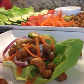 Garbanzo Bean Lettuce Wraps