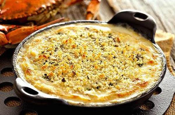 Crème De Brie® Champagne And Crab Gratin Recipe