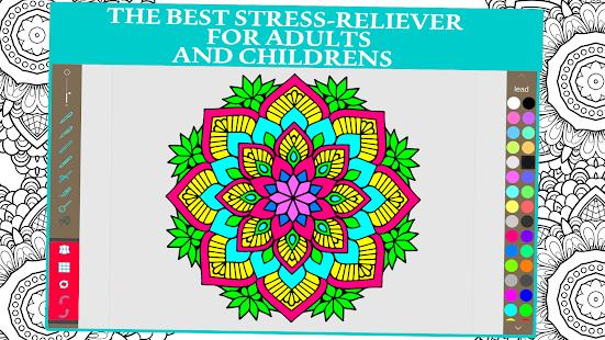 Mandala Coloring Book For Adults And Kids Screenshot Thumbnail
