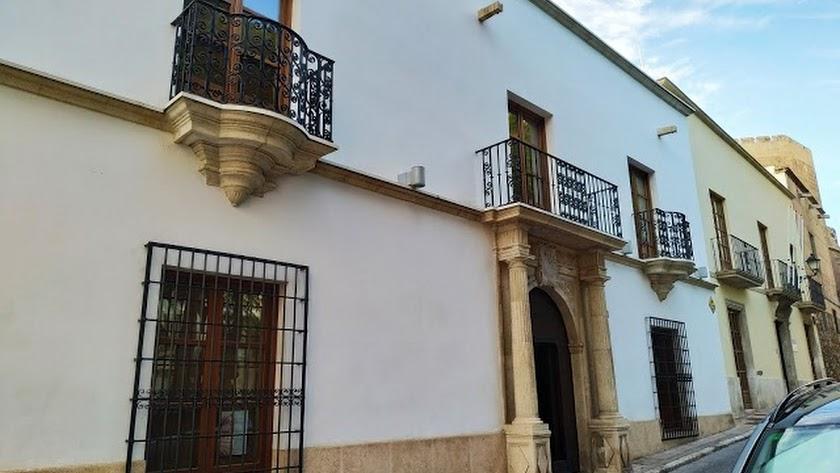 Casa de hermandad del Prendimiento, en la Plaza Bendicho.